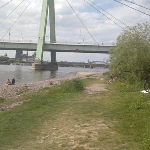 Deutzer Hafen Landzunge